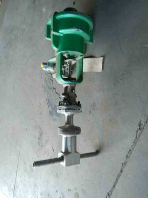 "Powell 1/2"" 1500 Class, 316 Stainless Control Valve"