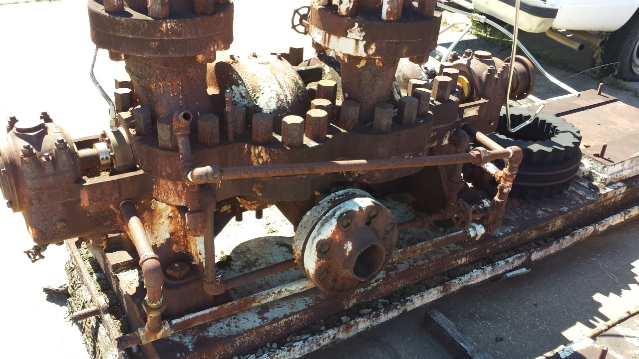 Goulds 3360 4x6 4 Stage Di Boil Feed Water Pump