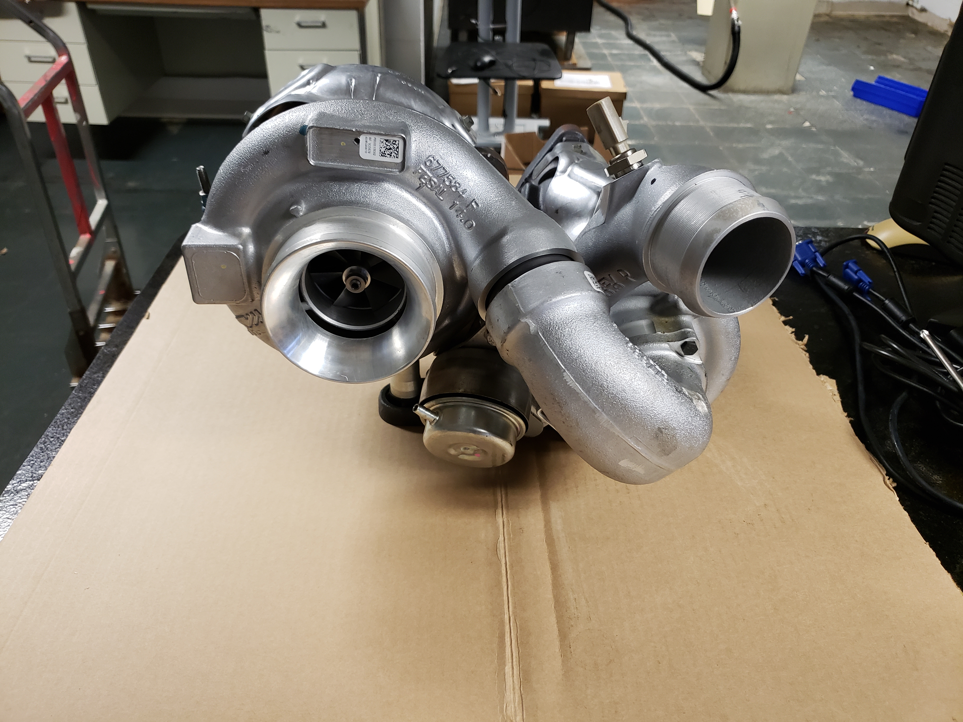 2008 Borg Warner Compound Turbo
