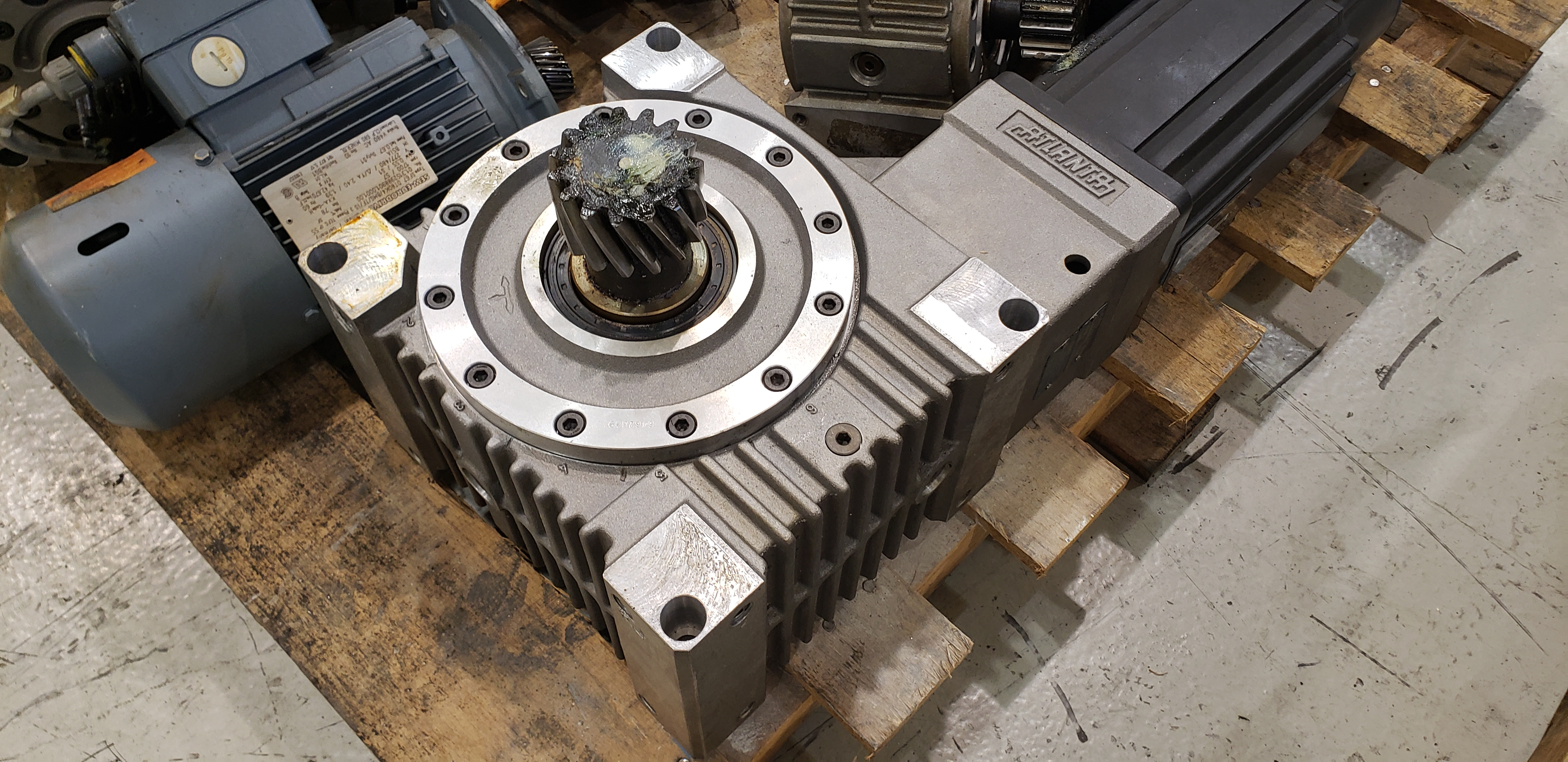 Atlanta Gear Reducer Model: 58-46-039