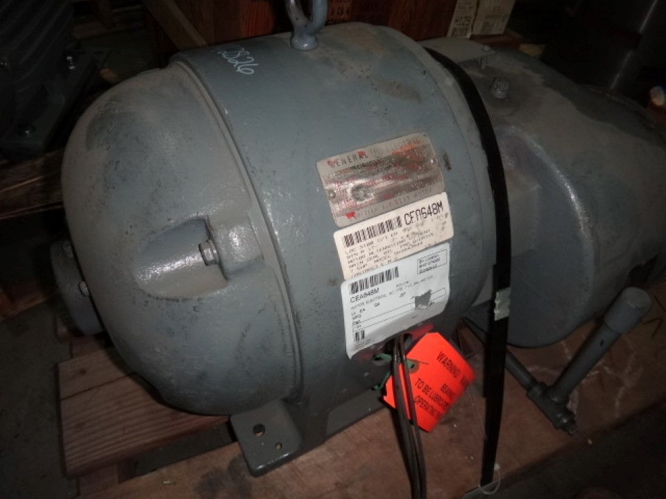 Ge 7 5 hp 1800 rpm motor transamerican equipment company for 5 hp 1800 rpm motor