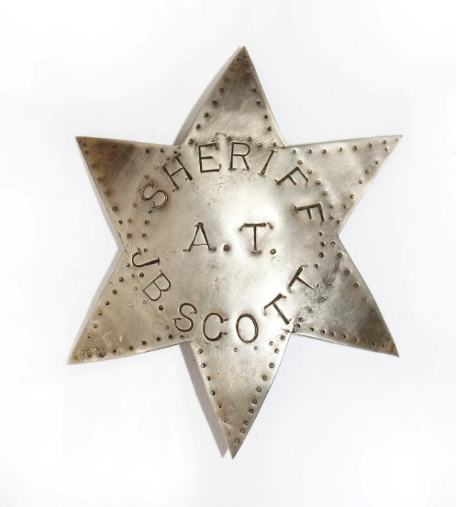 Sheriff J.B. Scott Badge, Pima County