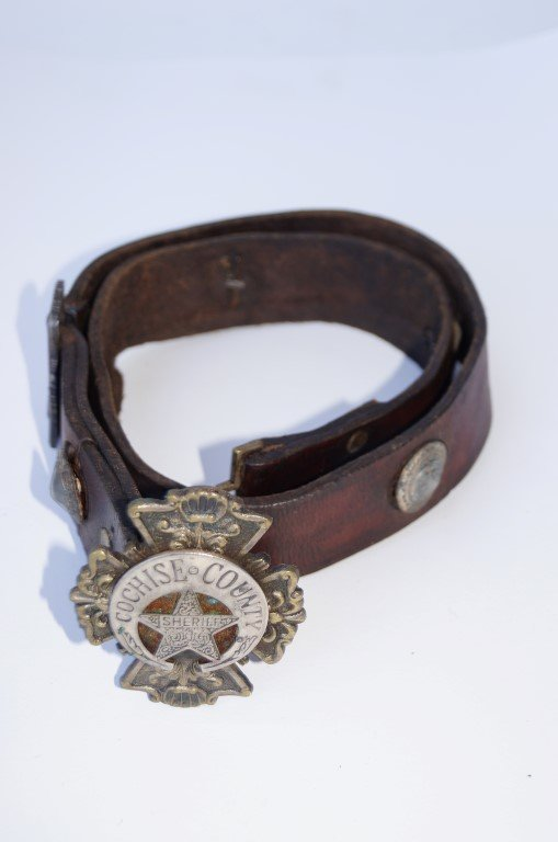 Cochise County Sheriff's Belt