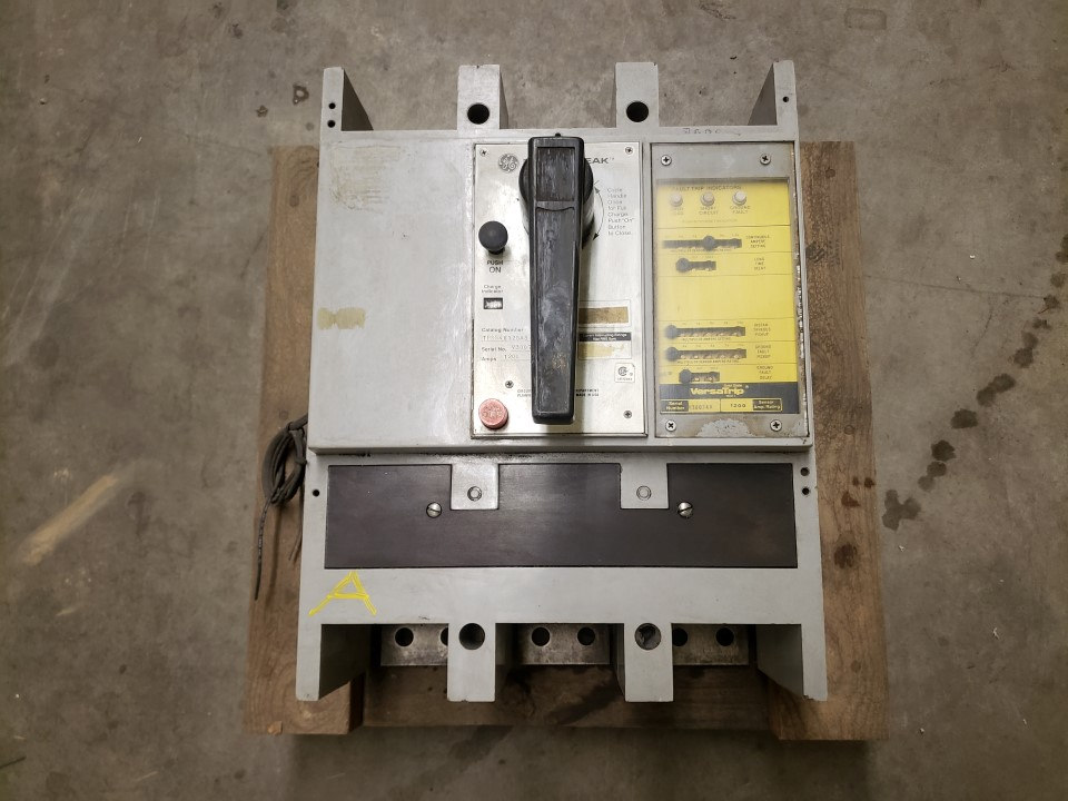 General Electric TPSS4612GA3 1200 Amp 600 Volt Power Break Circu