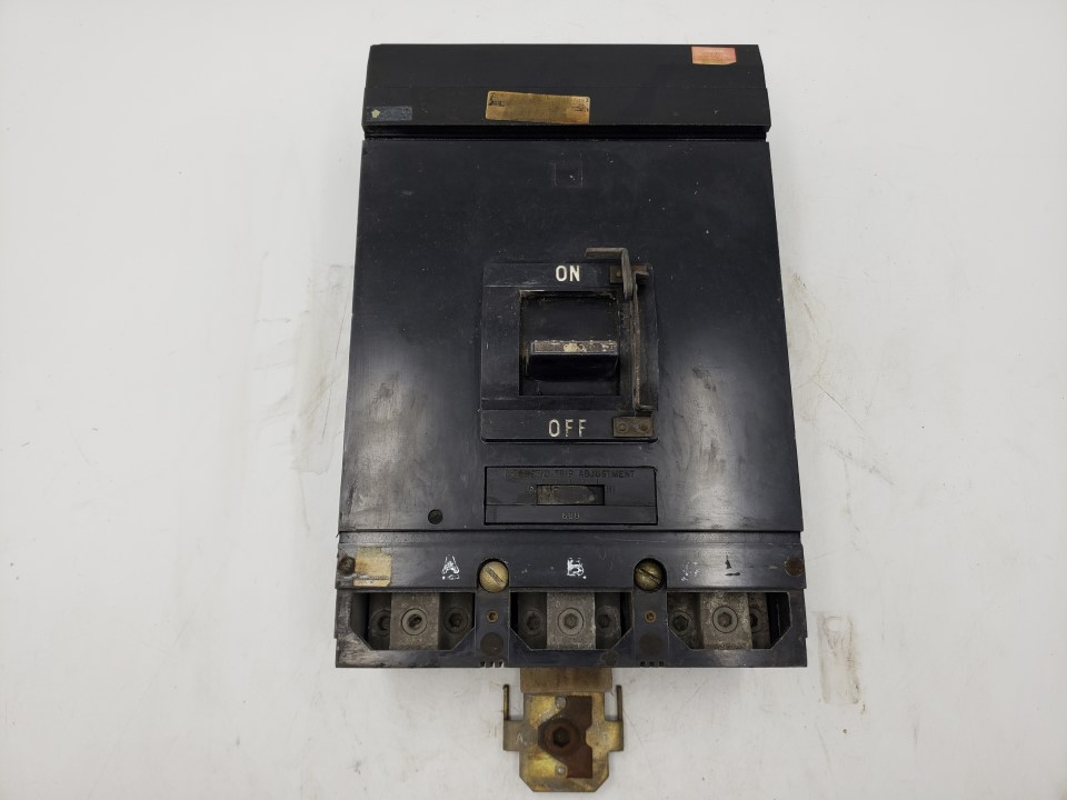 Square D 600 Amp 600 VAC MA36600 Molded Case Breaker