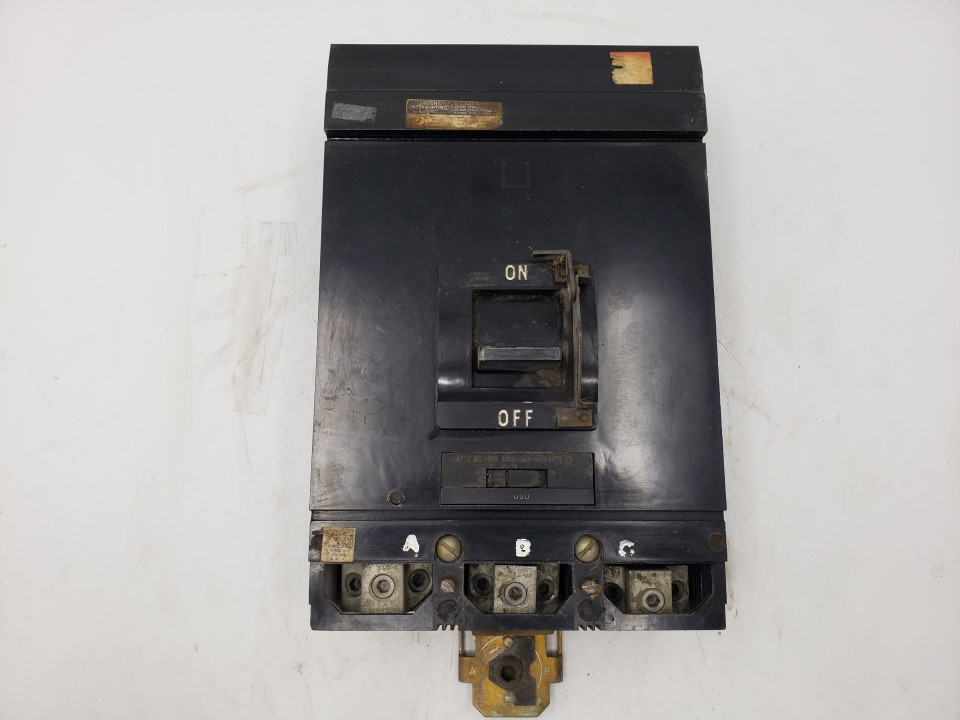 Square D 800 Amp 600 VAC MA36800 Molded Case Breaker