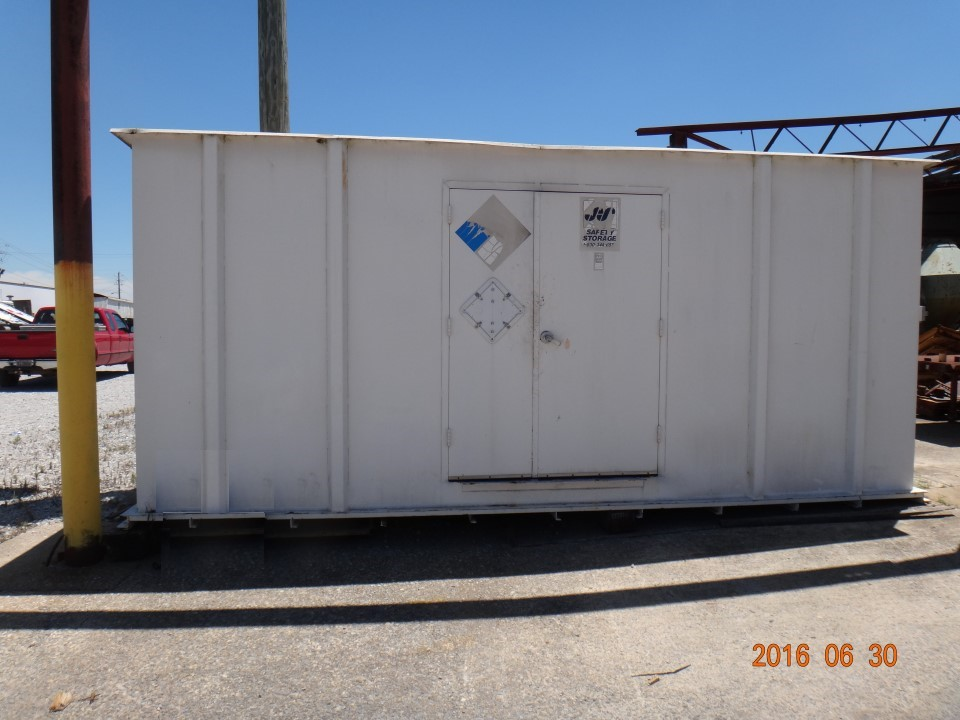 "2002 Safety Storage Building 232"" x 80"" x 104"""