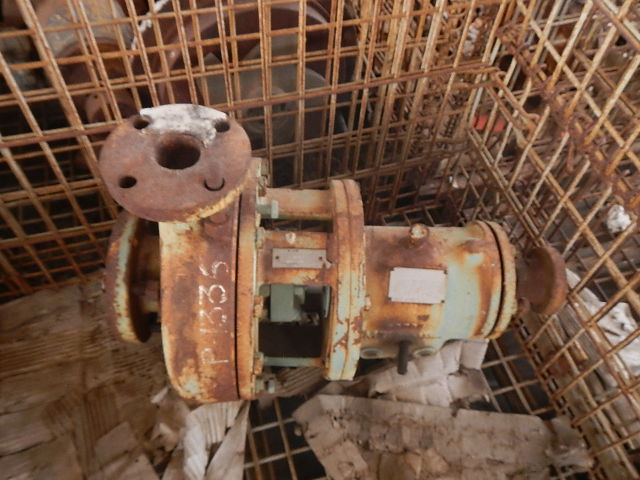 Goulds 3196 3x2-10/8.5 DI centrifugal pump