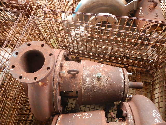 Goulds 3175 8x6-17 DI/SS centrifugal pump