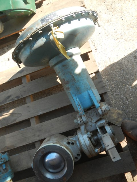 "Hammel Dahl 6"" 150 Rating, Steel Vee - Ball Control Valve"