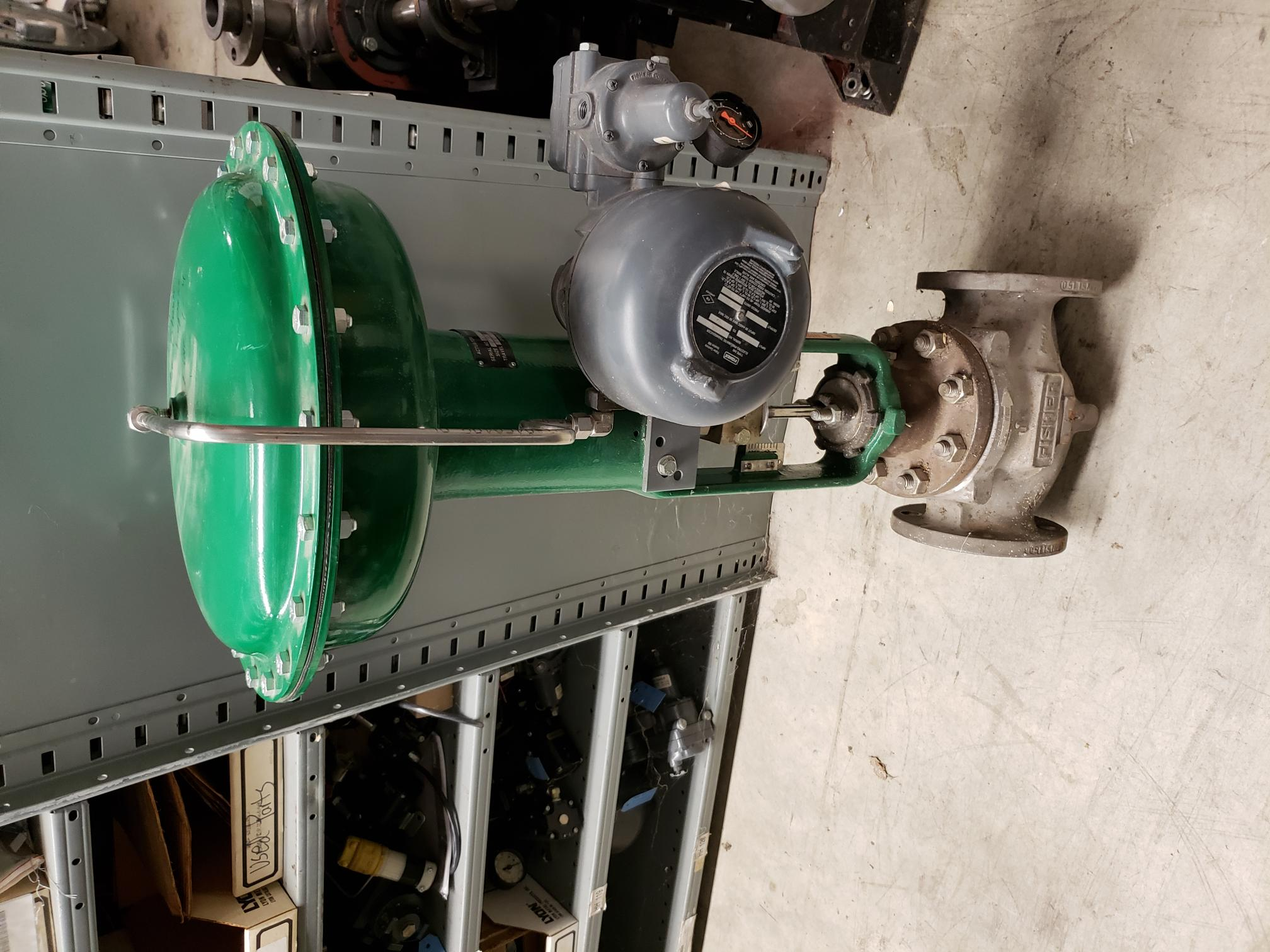 "Fisher 3"", Type 657, 316-SS, Diaphragm Control Valve"