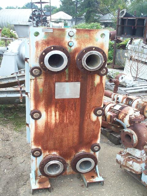 Plate and Frame  544 Sq.ft R405F Heat Exchanger