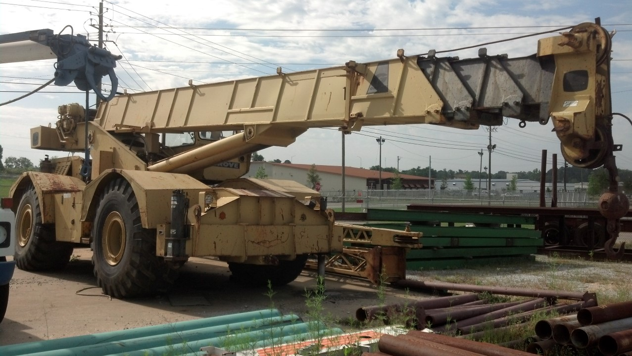 Grove RT-65S Rough Terrain Crane