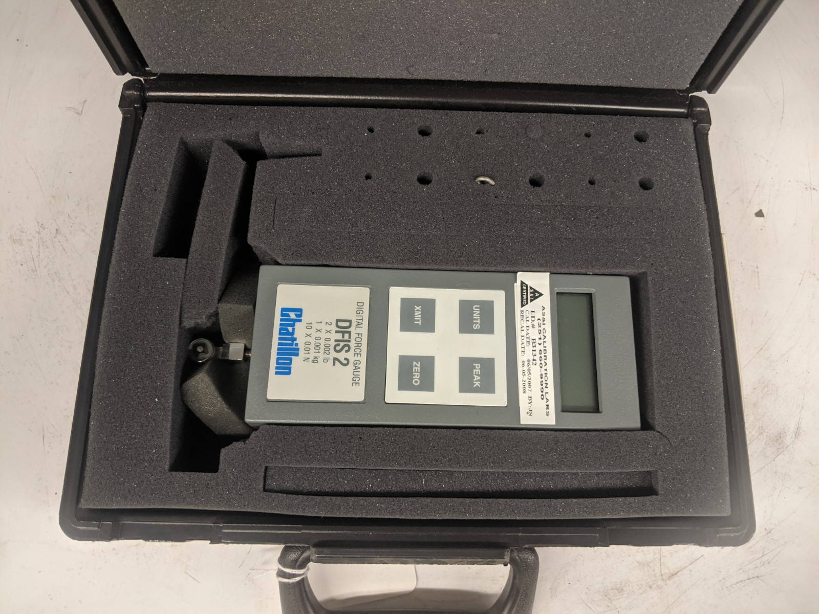 Chatillon DFIS 2 Digital Force Gauge