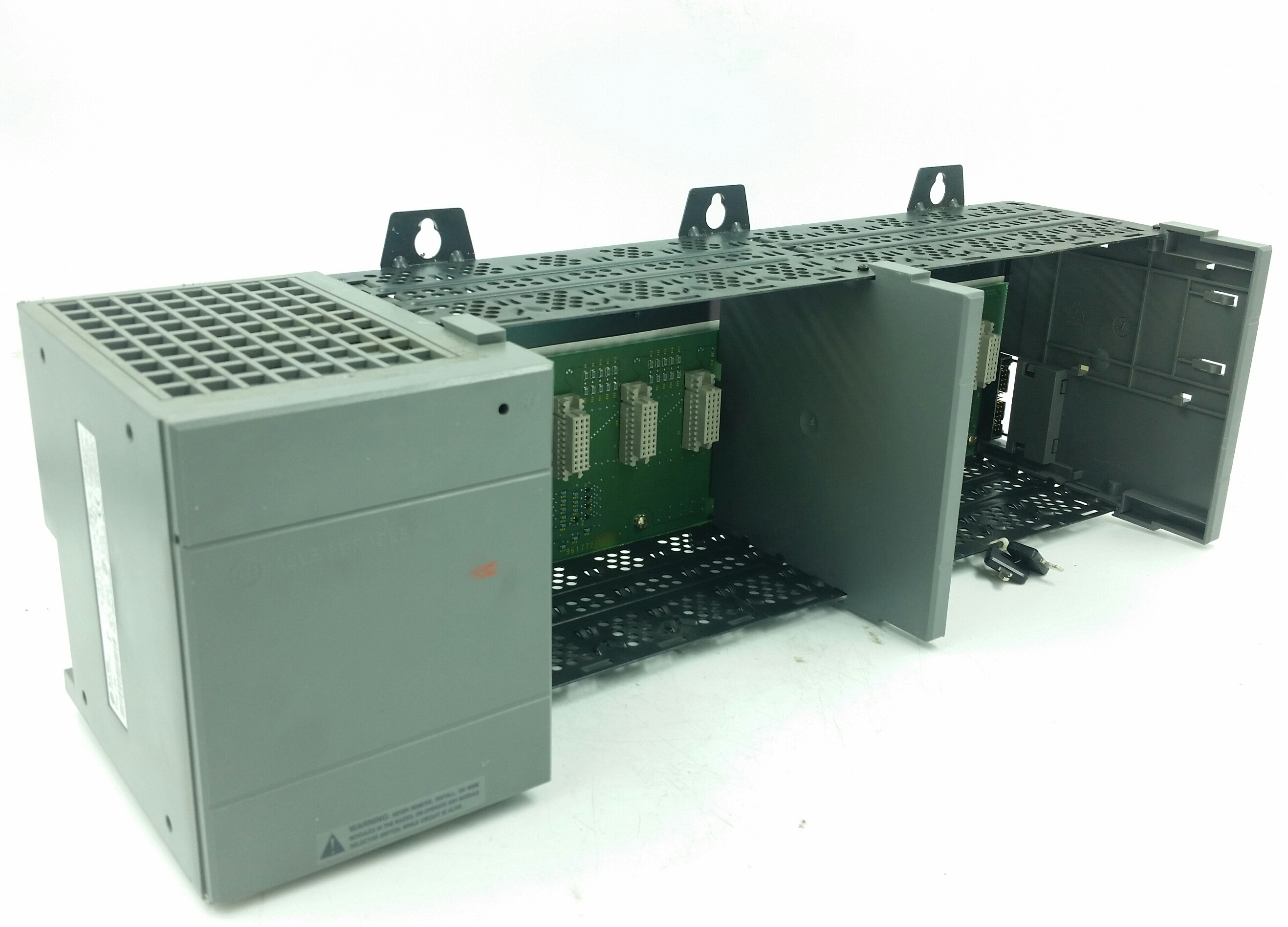 Allen-Bradley SLC 500 10 Slot Rack w/ 1746-P4 Power Supply 1746-