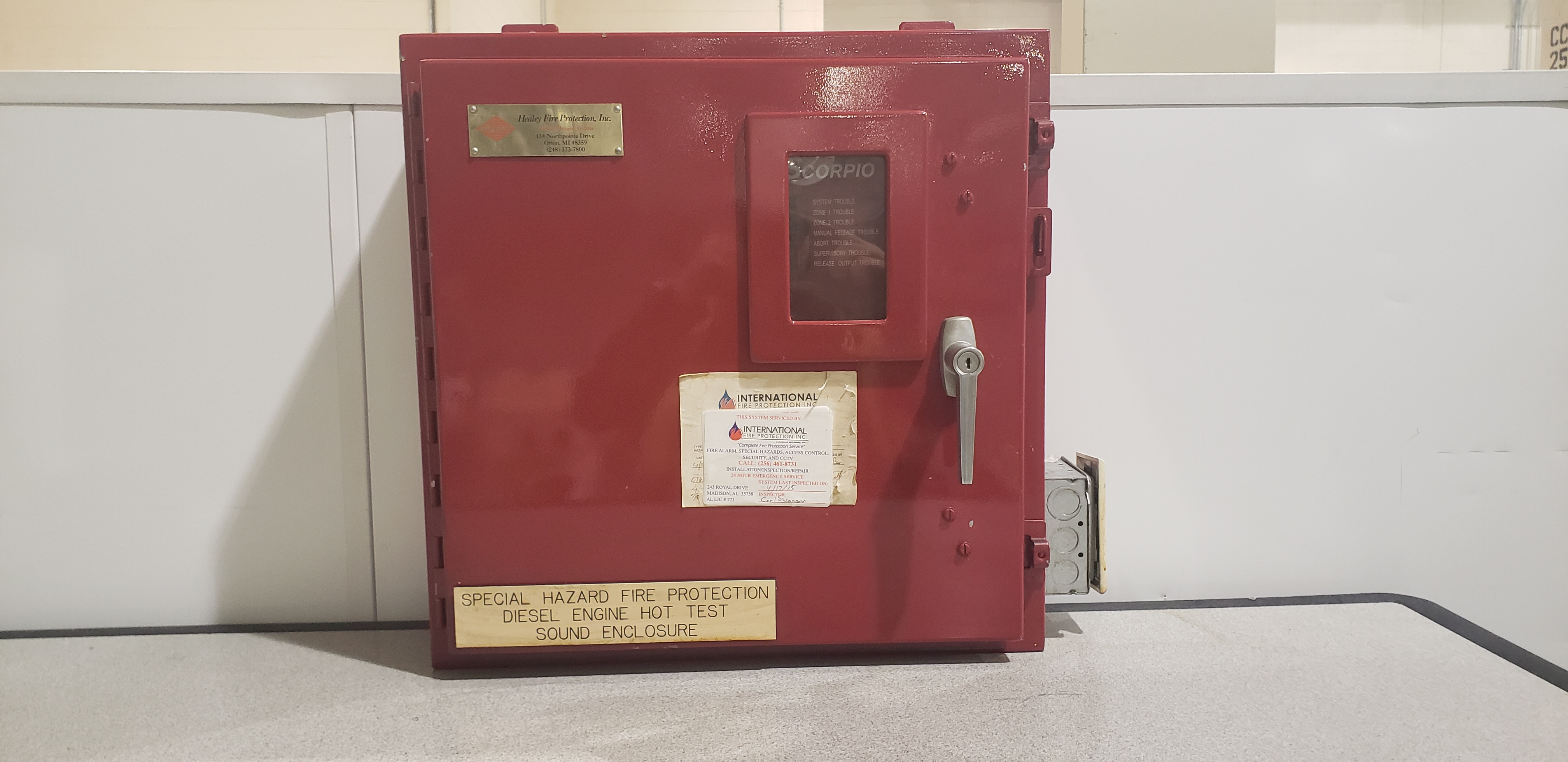 Kidde Scorpio Fire Control Unit 84-232000-102