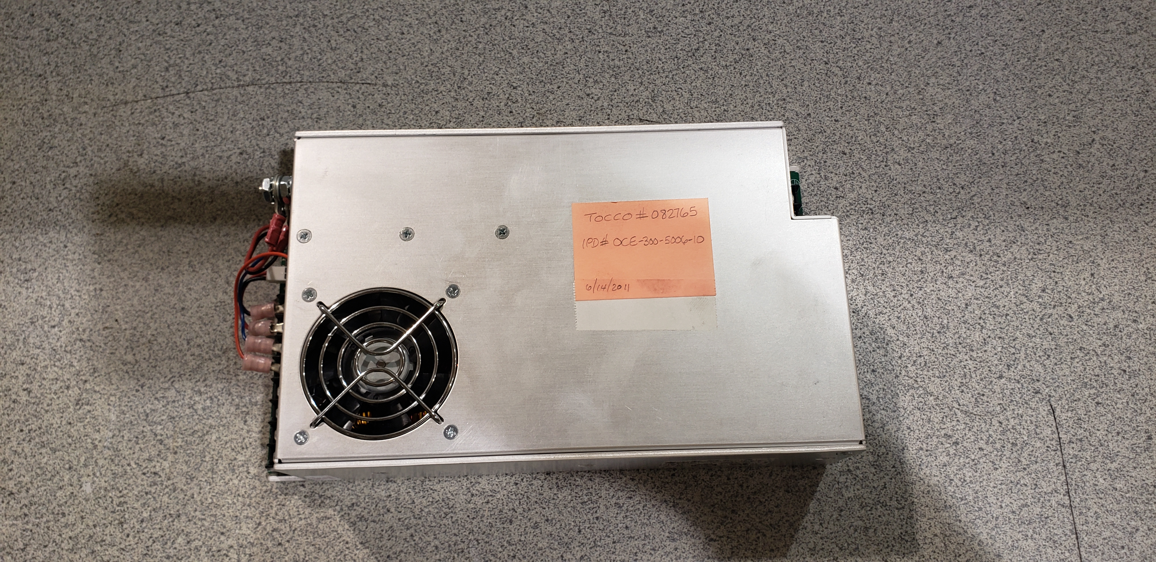 Integrated Power Design Power Supply CE-300-506-IO