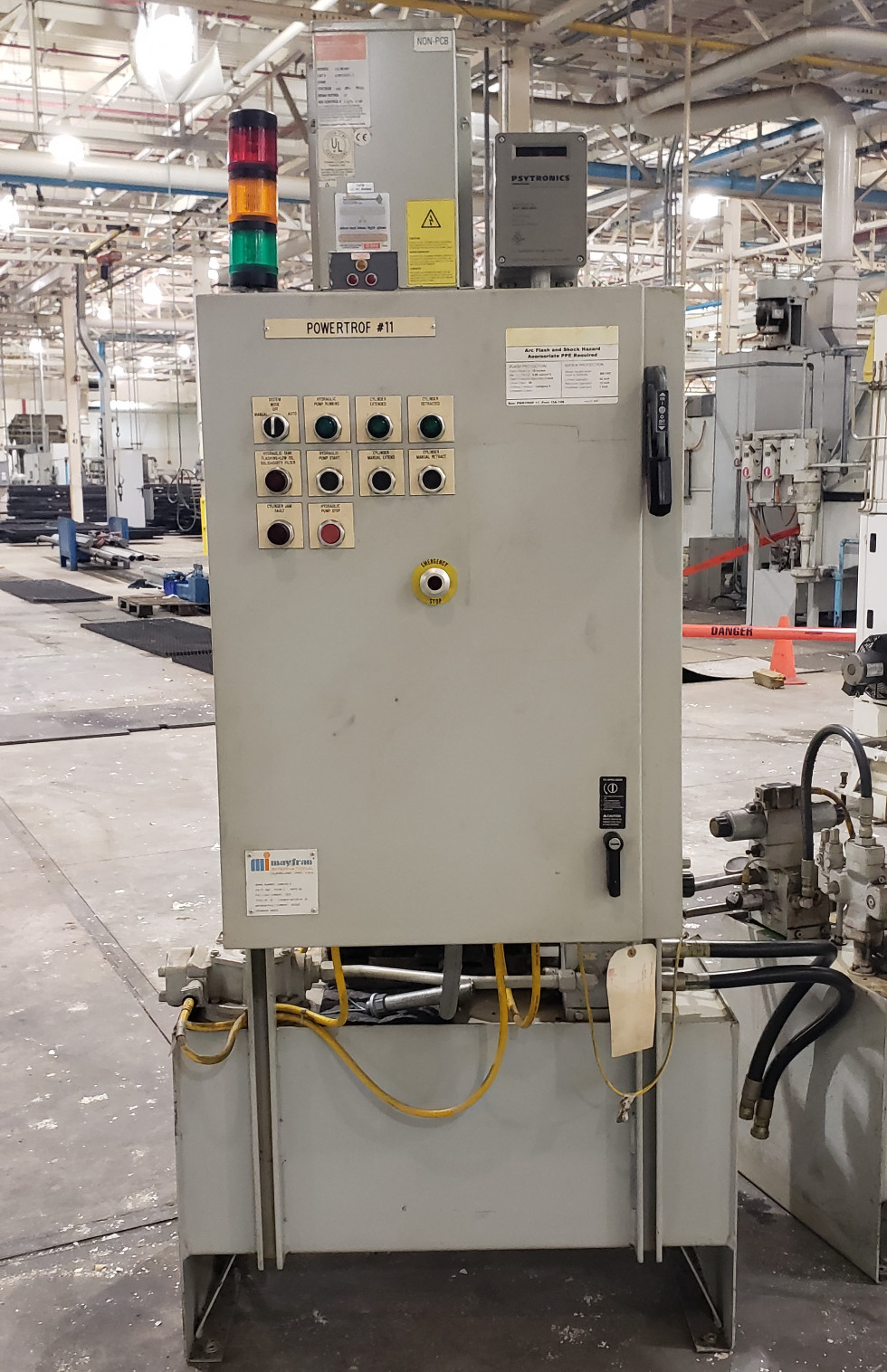 Rexroth 30 Gallon 15 Hp Hydrualic Unit With Control Pannel