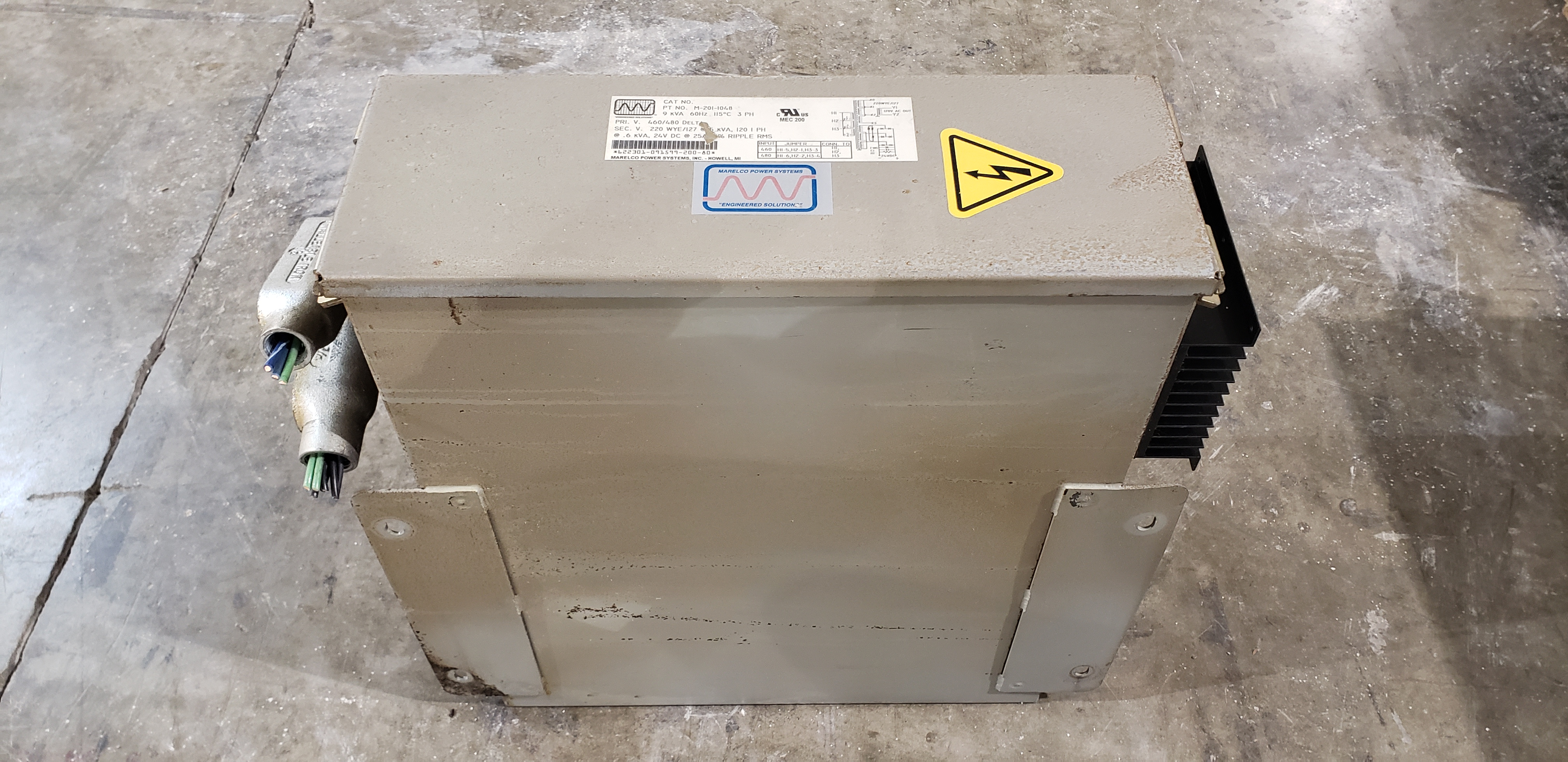 Marelco Power Systems Transformer M-201-1048