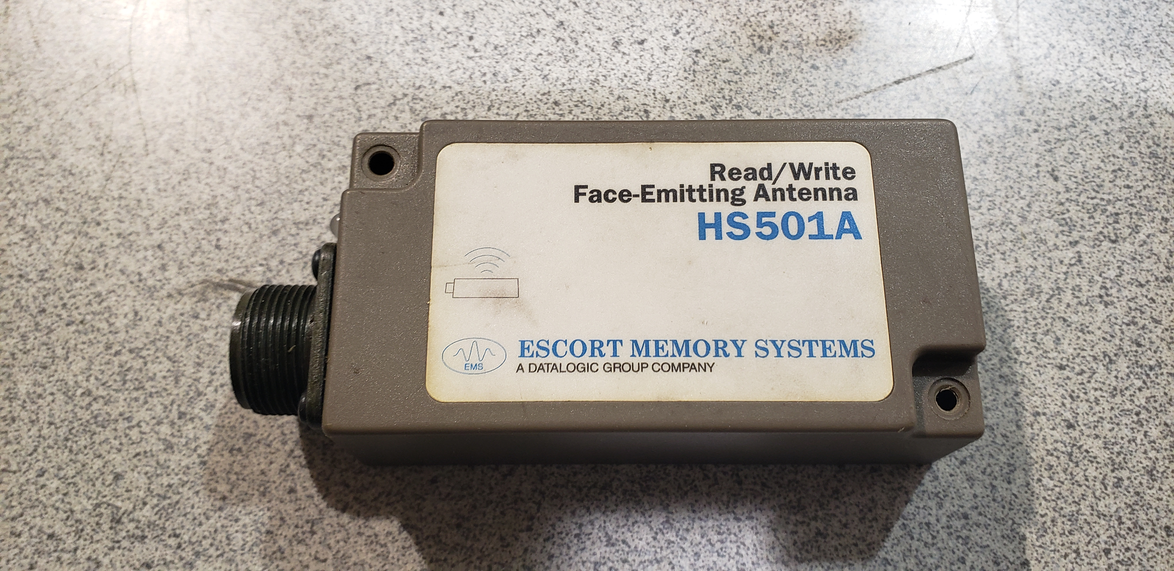 Escort Memory Systems Read-Write Face-Emitting Antenna HS501A