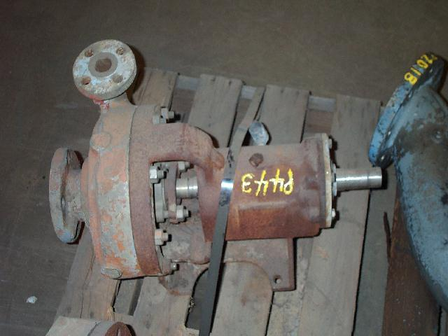 Worthington 2x1-8 Monel Centrifugal Pump