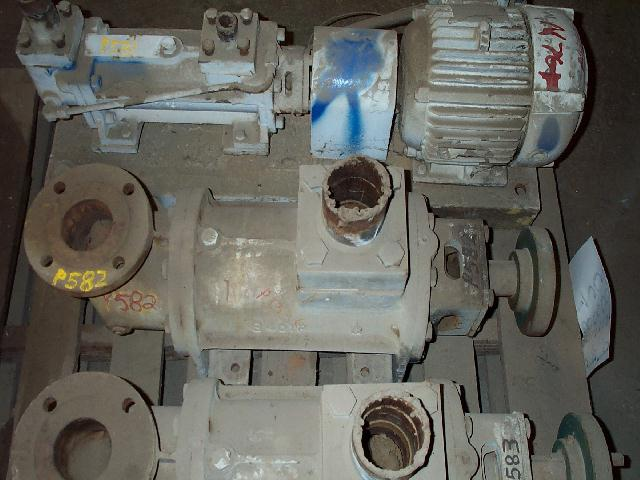 Delaval A3DHN275 3x3 DI Positive Displacement Pump