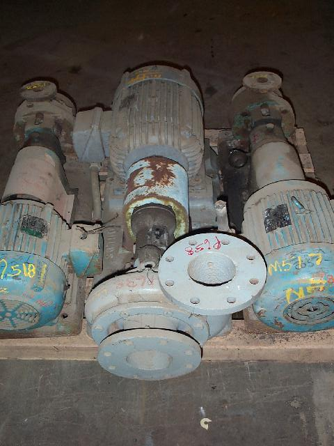 Goulds 3189 4x4-8 IC Brass IMP Centrifugal Pump