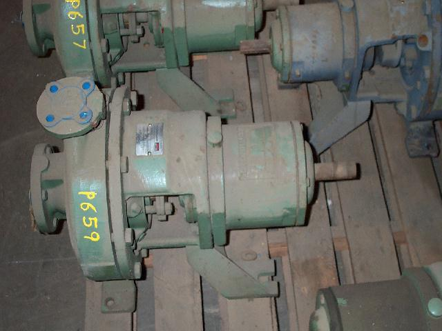 Worthington D1011 2x1-10/9.9 316SS Centrifugal Pump