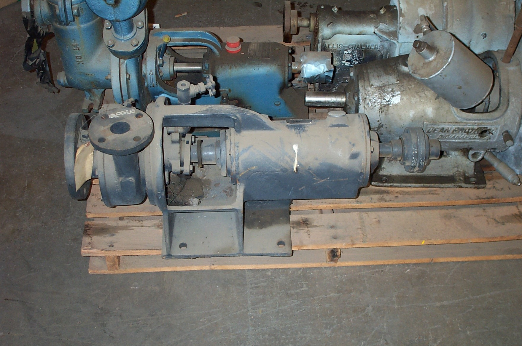 Allis-Chalmers F-3A 3x1.5-5/3.4 DI Centrifugal Pump