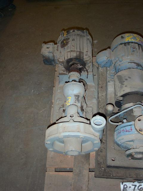Goulds 3189 2x1.5-8 CI Centrifugal Pump