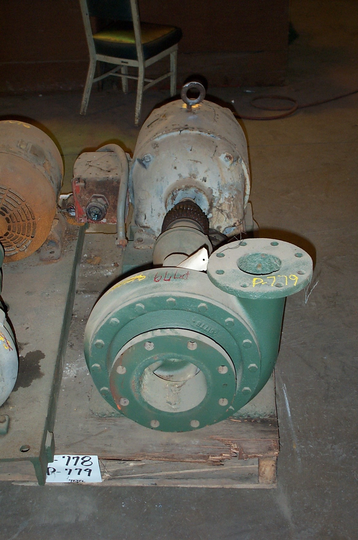 Goulds 3189 6x4-13/12 1/8 DI Centrifugal Pump