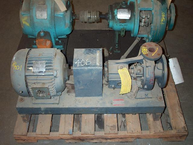 Allis-Chalmers F4A1391 3x1.5-6/5.25 DI Centrifugal Pump