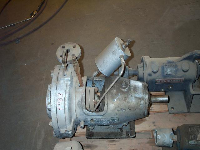 Dean Bros 1-2MMC10 2x1-10 CS Centrifugal Pump