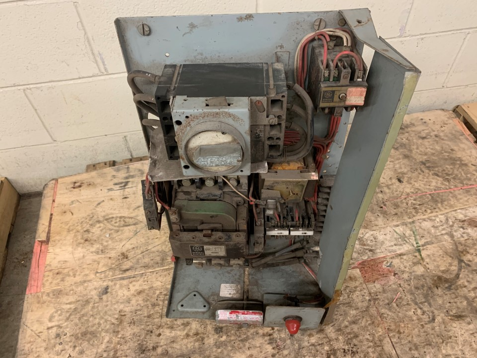 General Electric MCC Bucket Size 3 IC7700 Line No door 30hp 480V