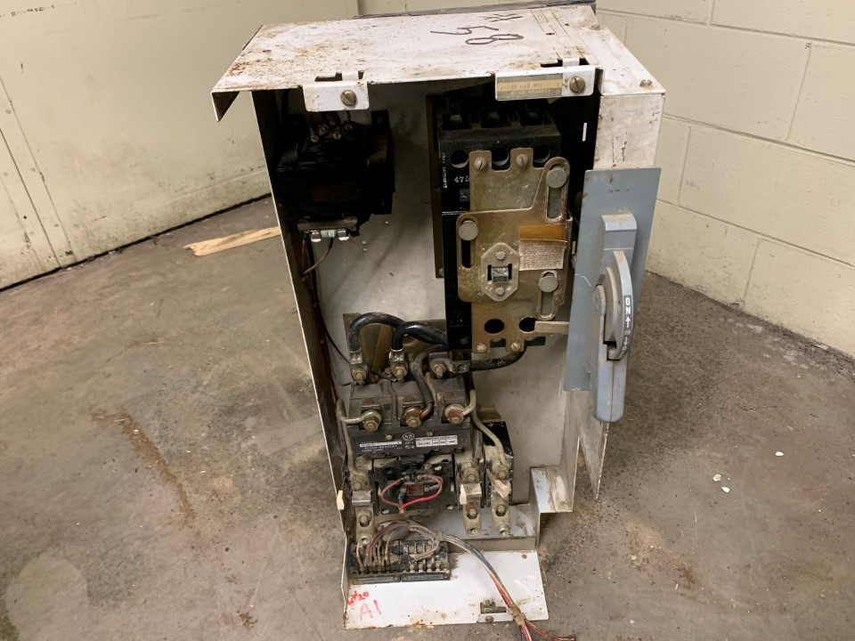 Allen Bradley Size 4 MCC Bucket No door Model: 2113B EAB 762 Ser