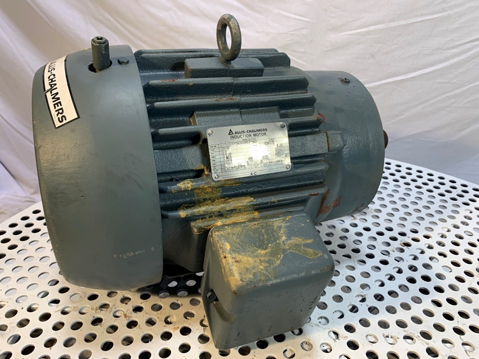 Allis Chalmers 15 HP 1750 RPM 254TC Frame Motor