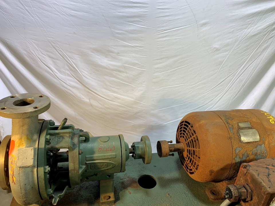 Durco MKII 4x 3-10/ 9.4 D20 Centrifugal Pump With Westinghouse 1