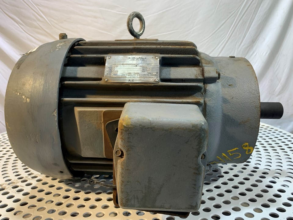 Allis Chalmers 20 HP 1750 RPM 256TC Motor