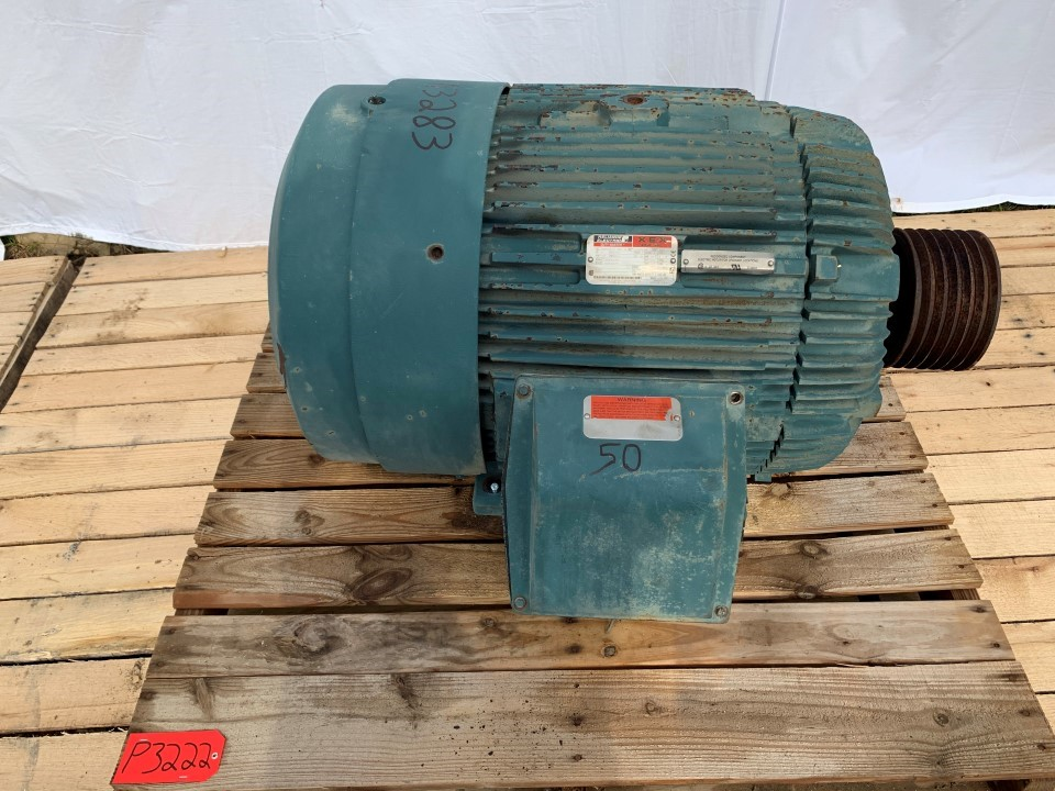 Reliance 75 HP 1185 RPM 405T Frame Motor