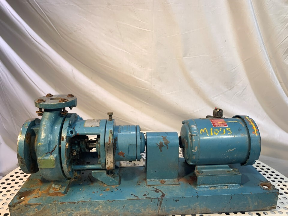 Worthington 501403 1.5x1-6 Stainless Steel Centrifugal Pump with