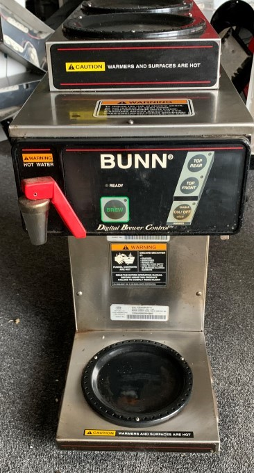 Bunn Dual Volt Coffee Brewer Model: CDBF-DV-TOP