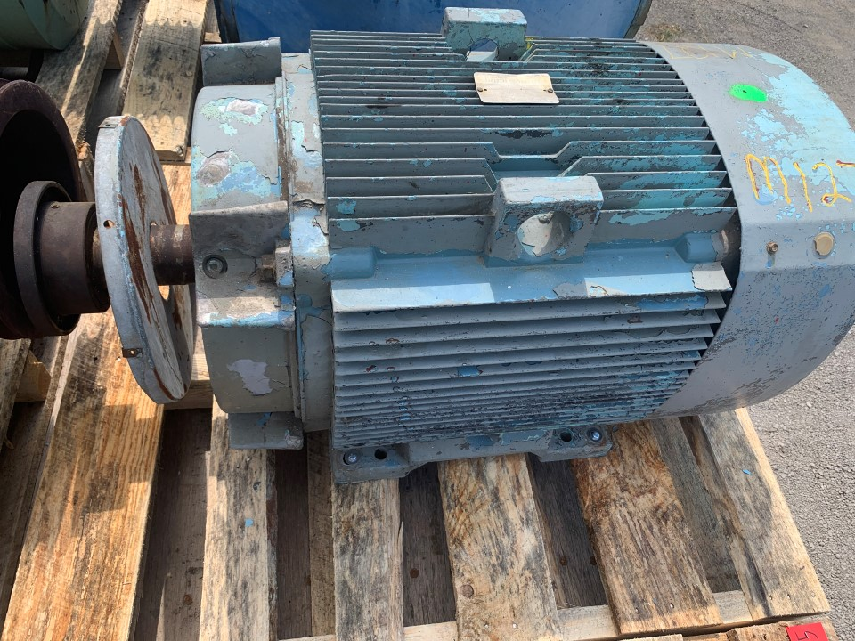 General Electric 75 HP, 900 RPM, Electric Motor