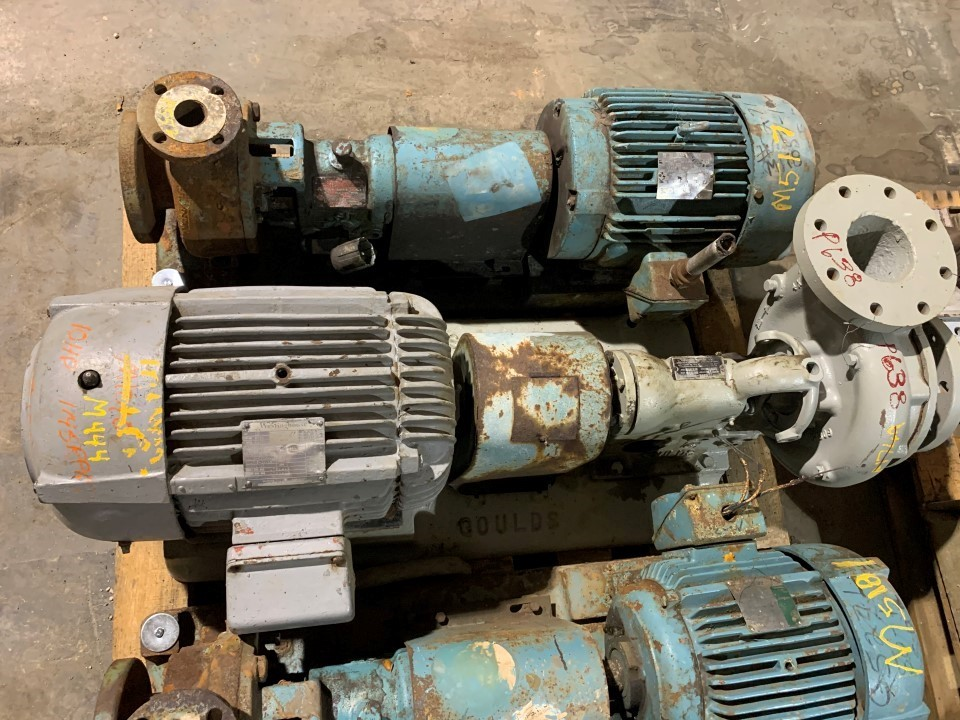 Goulds 3189 4x4-8 Centrifugal Pump with Westinghouse 10 HP 1745