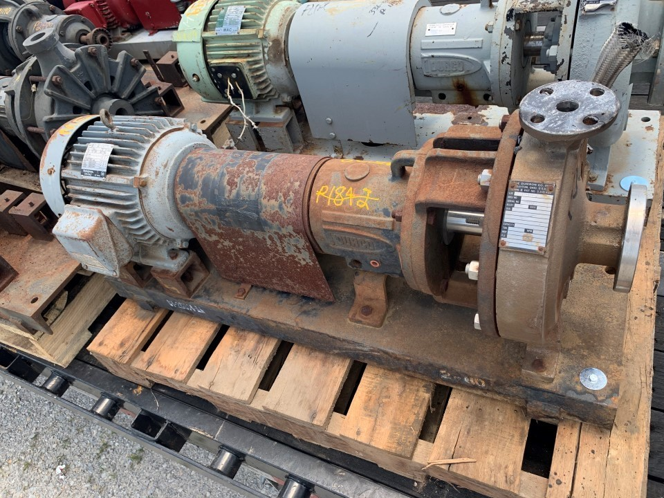 Durco MKII 2x1 S-10/6.5  D4 Centrifugal Pump with Westinghouse 1
