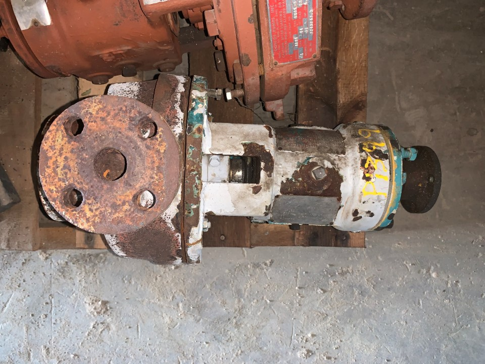 Goulds 3196 1.5x1-6 DI Ductile Iron 1012 Centrifugal Pump