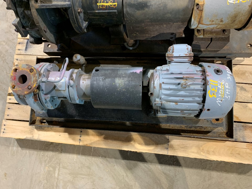 Worthington D1011 3x1.5-6 DI Centrifugal Pump with US Electric 5