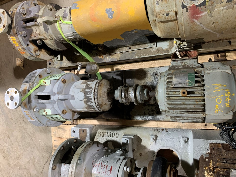 Durco MKII 2x1-10/ 9  D4 182T Centrifugal Pump with Westinghouse