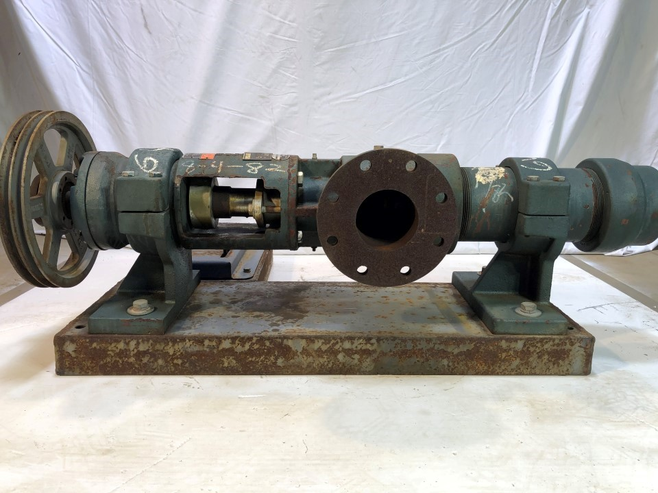 Roper Type 1 DI 1160 RPM 3 HP Positive Displacement Pump