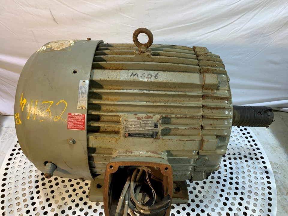 US Electric 60 HP 1185 RPM Motor