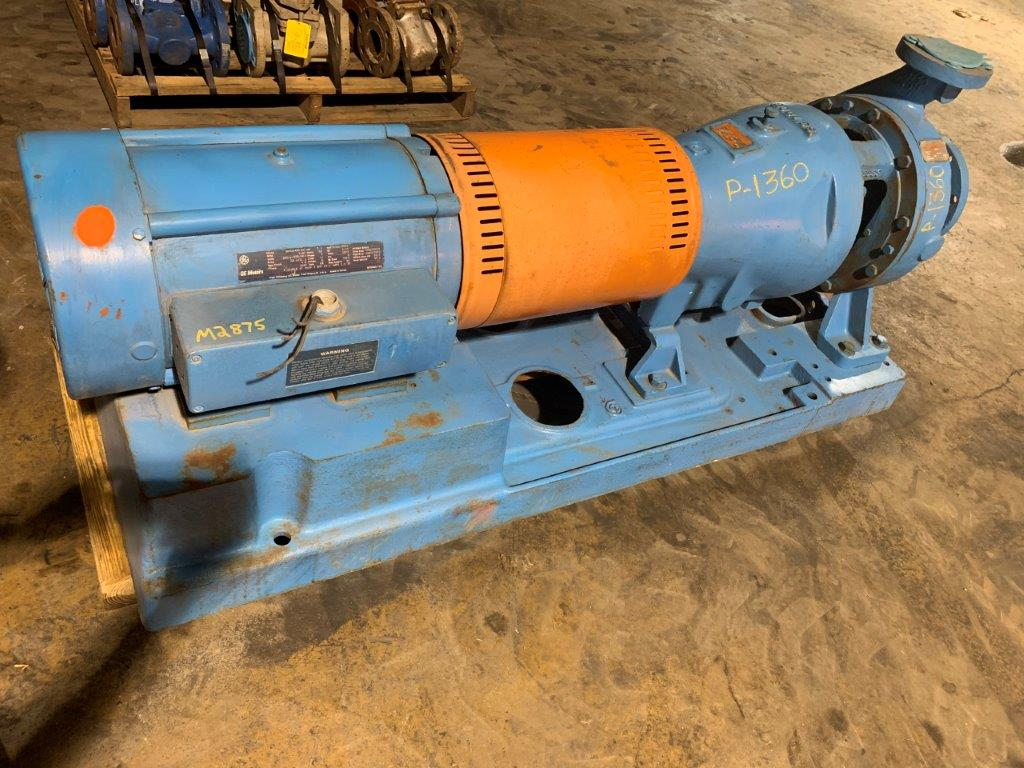 Goulds Pump Model 3175 Size 3x6-12 316SS Centrifugal Pump with G